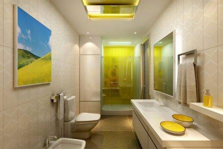 Фото 1 освещение ванной