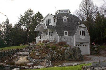 Фото 1 купольный дом