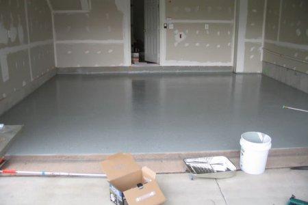 7 шагов к качественному бетонному полу в гараже
