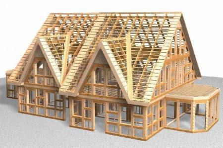 Каркасные дома - панацея для строительства недорого жилья?
