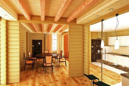 Строим собственный дом из клееного бруса