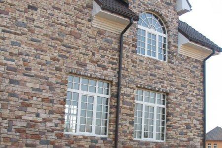 Создаем фасад дома из декоративного кирпича