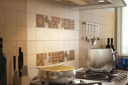 Подбираем облицовочную плитку для кухни