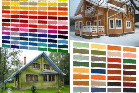 Фото 1 Как красить деревянный дом?