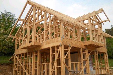 Фото 1 Особенности строительства каркасных домов