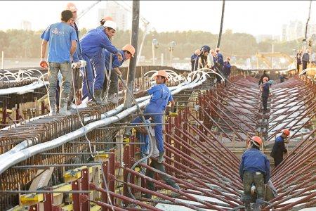 Фото 1 Процесс строительства