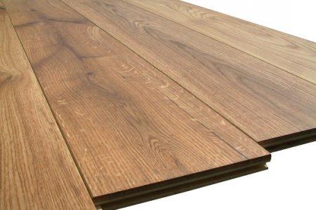 Фото 1 Напольная доска из натуральной древесины