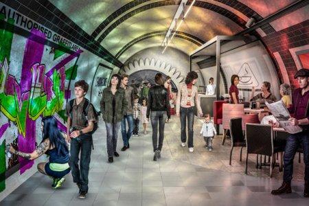 Фото 1 Подземные дорожки в Лондоне