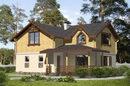 Фото 1 Кровля в комбинированном доме
