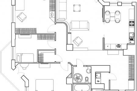 Проект ремонта в квартире