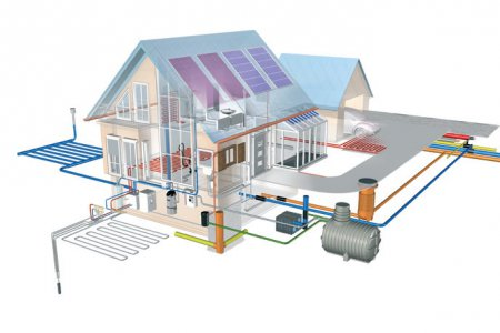 Фото 1 Схема инженерных сетей и электрических систем