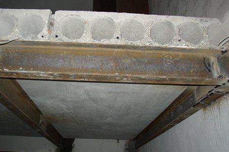 Как усилить плиты перекрытия?