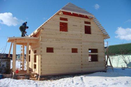 Фото 1 Зимнее строительство