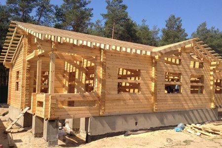 Особенности строительства и планировки одноэтажного дома из бруса