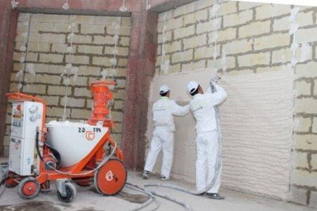Фото 1 Кому доверить машинную штукатурку стен?