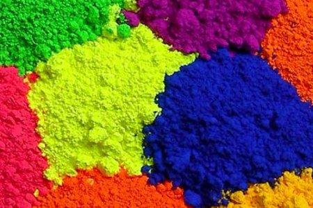 Использование сухих красок