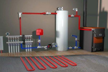 Создание системы отопления и их разновидности