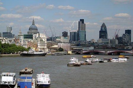 Чем дальше от центра Лондона, тем дешевле недвижимость