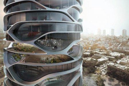 В Тель-Авиве появится небоскреб цилиндрической формы